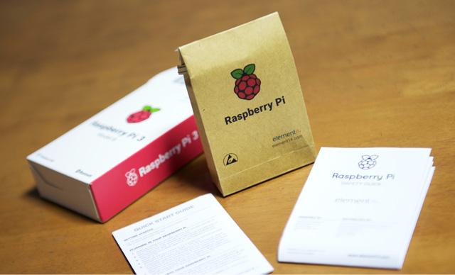 Raspberry Pi のかわいいパッケージ