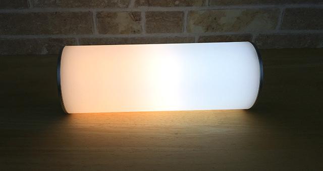 LEDライトを寝かせてみました