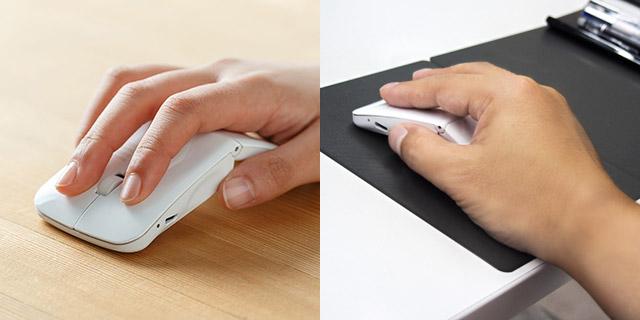 超薄型軽量マウス!ノートパソコンのお供にいかがですか?