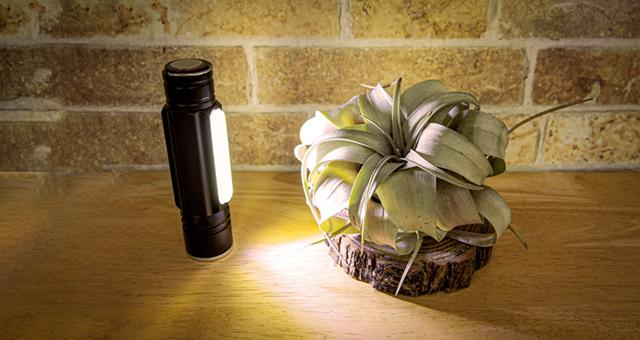 広範囲を明るくするLED懐中電灯を使ってみました!