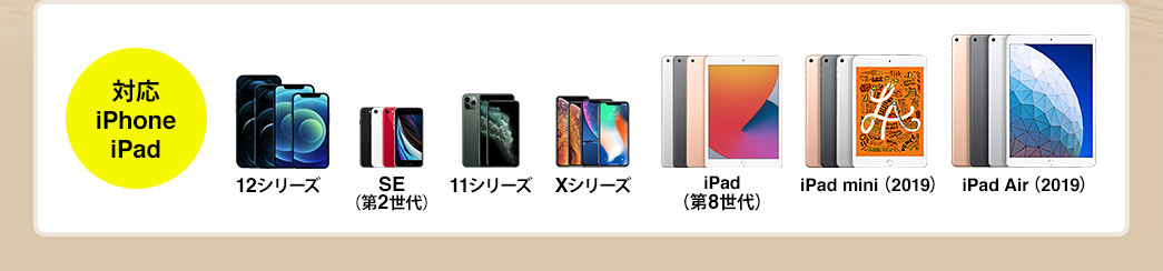 対応 iPhone iPad