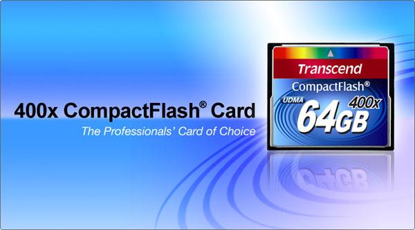 TS16GCF400 16GB Transcend社製 400倍速 コンパクトフラッシュカード サンワダイレクト
