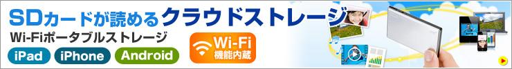 SDカードが読める WiFiポータブルストレージ