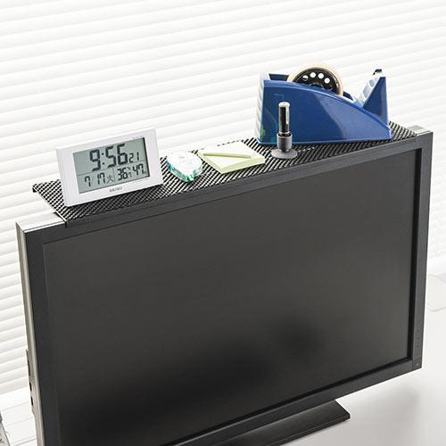 テレビ・ディスプレイ上部用収納台
