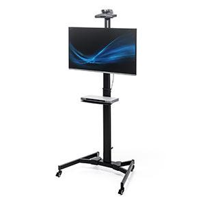 テレビを使って授業できる液晶モニタースタンド