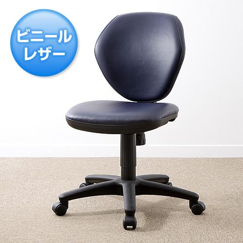 【組立出荷】オフィスチェア(ブラック) 100-SNC025VBL 5台セット