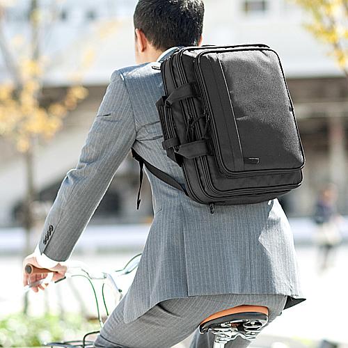 【クリックで詳細表示】小型3WAYビジネスバッグ 200-BAG055