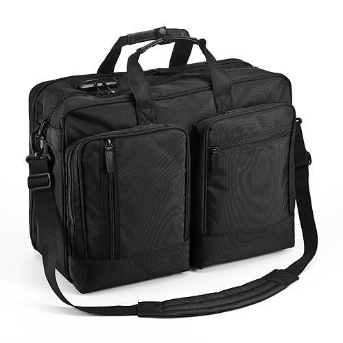 収納力と機動性に優れた人気のおすすめ出張バッグ SANWA DIRECT 200-BAG090