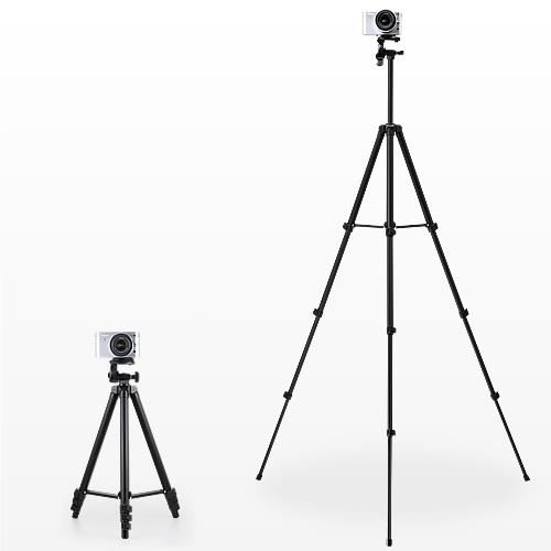 カメラ三脚(デジカメスタンド・4段伸縮・デジカメ&一眼レフ&ビデオカメラ対応))