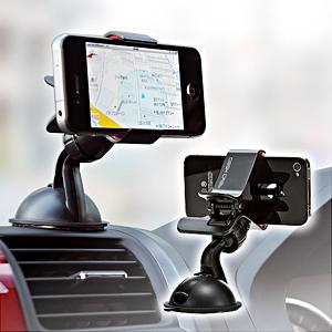 【クリックで詳細表示】iPhone・スマートフォン車載ホルダー 200-CAR008