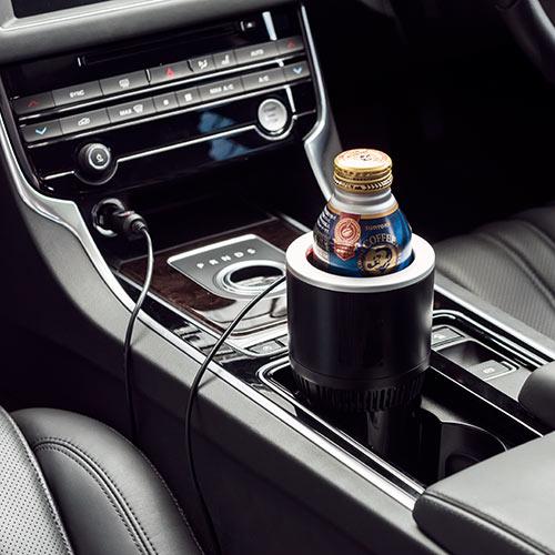 保温保冷対応車載ドリンクホルダー
