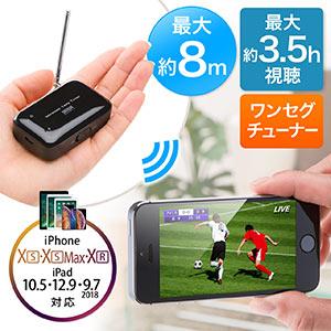 a8c1ad357c iPhone&Androidワンセグチューナー(無線・録画対応・高感度ロッドアンテナ&据え置きアンテナ