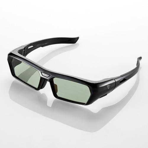 【クリックで詳細表示】3Dメガネ(各社テレビ対応・自動認識機能・アクティブシャッター方式) 400-3DGS002