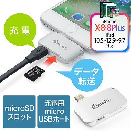 The 5-IN-1 Lightning Adapter Card Reader Hub for iPhone X XS XR//iPhone 8 7 6 NEW