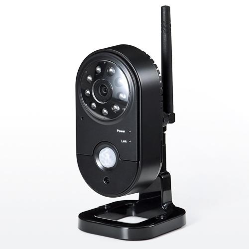 防犯カメラ(屋内用・400-CAM055/035専用・1台) サンワダイレクト サンワサプライ 400-CAM035INC