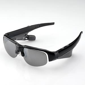 【クリックで詳細表示】Bluetooth対応サングラス型骨伝導ヘッドセット 400-HS015