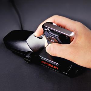 【クリックでお店のこの商品のページへ】FPSシューティングマウス(ZALMAN製) 400-MA008