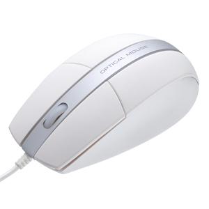【クリックでお店のこの商品のページへ】光学マウス(USB接続) 400-MA016