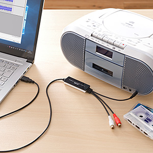 USB接続オーディオキャプチャー