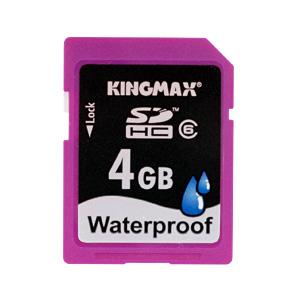 【クリックでお店のこの商品のページへ】SDHCメモリカード(防水タイプ・Class6・4GB) 600-HCKW4G