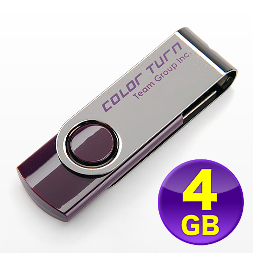 USBフラッシュメモリ(スイングタイプ・4GB)