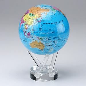 ECO地球儀 MOVA globe(ブルー)