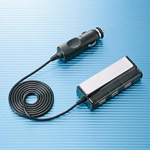 【クリックで詳細表示】USBカーチャージャー(4ポート) ACA-CCIP9
