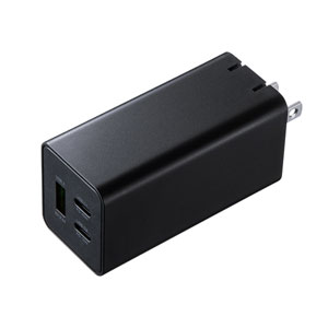 USB Power Delivery対応AC充電器(PD45W・GaN)