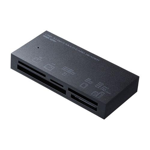 マルチカードリーダー(USB 3.1 Gen1対応・TYPE-A・ブラック)