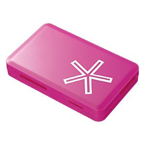 【クリックでお店のこの商品のページへ】【わけあり在庫処分】 USB2.0 カードリーダーライター(44in1・ピンク) ADR-ML12P