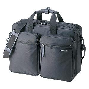 【クリックで詳細表示】3WAYビジネスバッグ(出張用) BAG-3WAY2BK