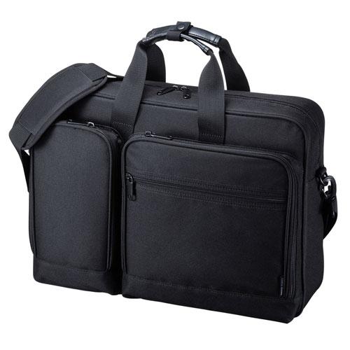 3WAYビジネスバッグ(リュック・軽量・13.3インチワイド・ブラック)