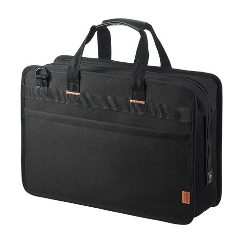 らくらくタブレットバッグ(5台収納・12.5インチ・鍵付き・ブラック)