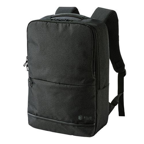 PCバックパック(15.6インチワイド・カジュアル・ブラック)