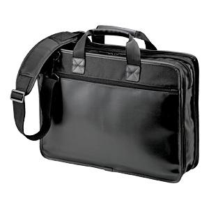 【クリックでお店のこの商品のページへ】【在庫処分】 PCブリーフケース BAG-C28BK