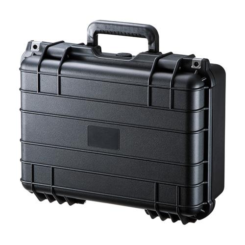 ハードツールケース(PP樹脂製・密閉ダイヤル・鍵付き・精密機器/小型ドローン対応)