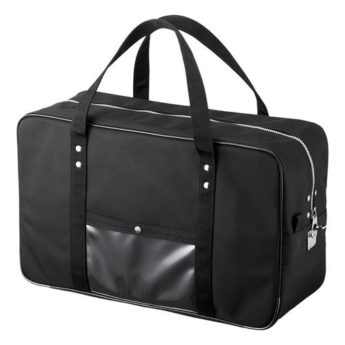 メールボストンバッグ(W490×D190×H300mm・Lサイズ・ブラック)