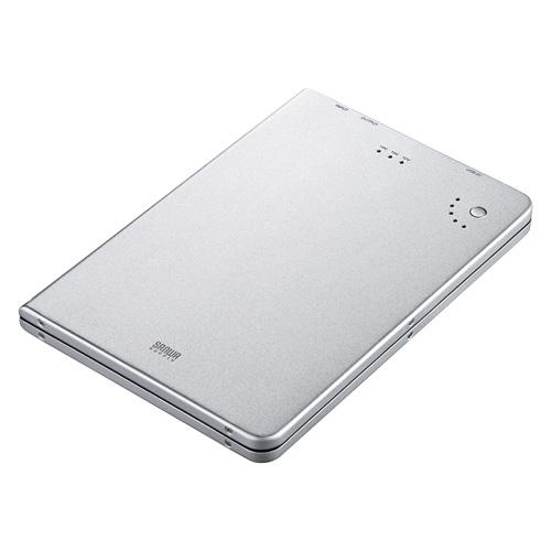 モバイルバッテリー(USB充電ポート付き・ノートパソコン用)