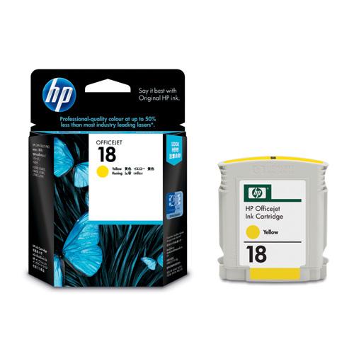 HP C4939A HP18インクカートリッジ イエロー