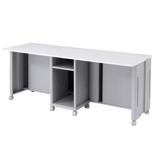 CAIデスク(液晶ディスプレイ収納・昇降タイプ・W1800mm)