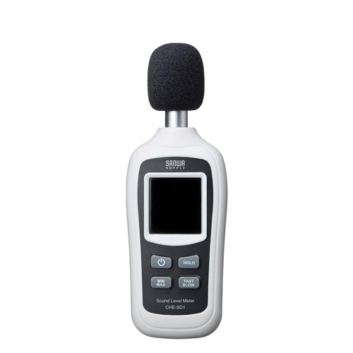 【増税前!期間限定価格】デジタル騒音計(小型・気温測定機能付き)