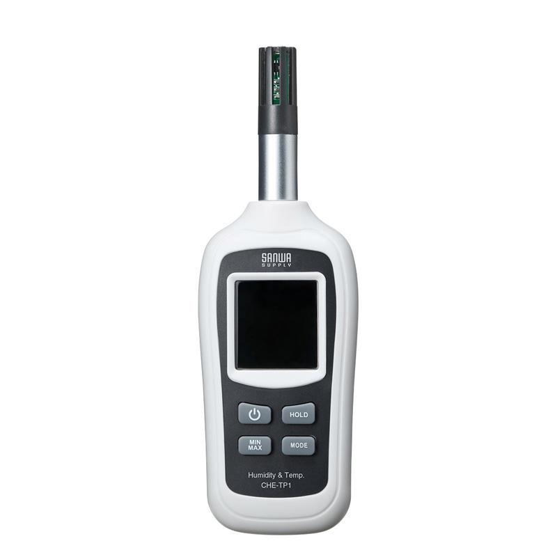 デジタル温湿度計(小型) サンワダイレクト サンワサプライ CHE-TP1