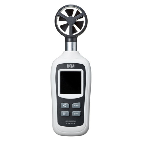 デジタル風速計(小型・気温測定機能付き)