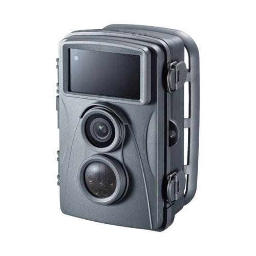 トレイルカメラ(防犯・ワイヤレス・赤外線センサー内蔵・500万画素・IP54防水防塵)