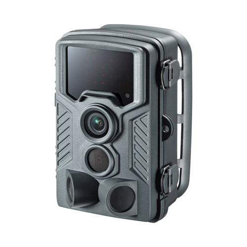 トレイルカメラ(防犯・ワイヤレス・赤外線センサー内蔵・800万画素・IP54防水防塵)