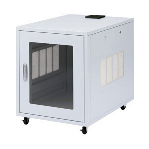 【クリックで詳細表示】19インチマウントボックス防塵機能付き(12U・W570×D800×H700mm)(受注生産) CP-2KFA