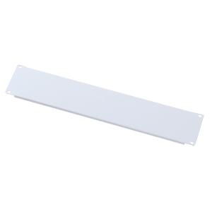 ブランクパネル(2U・ホワイト)