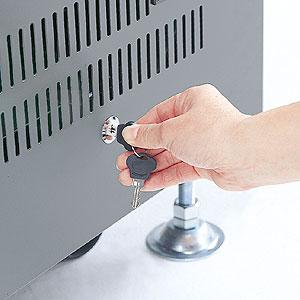 【クリックで詳細表示】鍵付サイドパネル奥行1000mm用(左右2枚セット) CP-SVSPL100