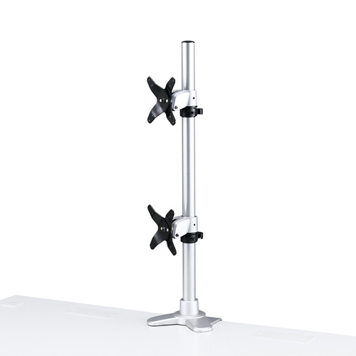 水平垂直液晶モニターアーム(机用・水平垂直・上下2面)