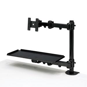 【期間限定価格】デュアルシステムアーム(キーボード台)